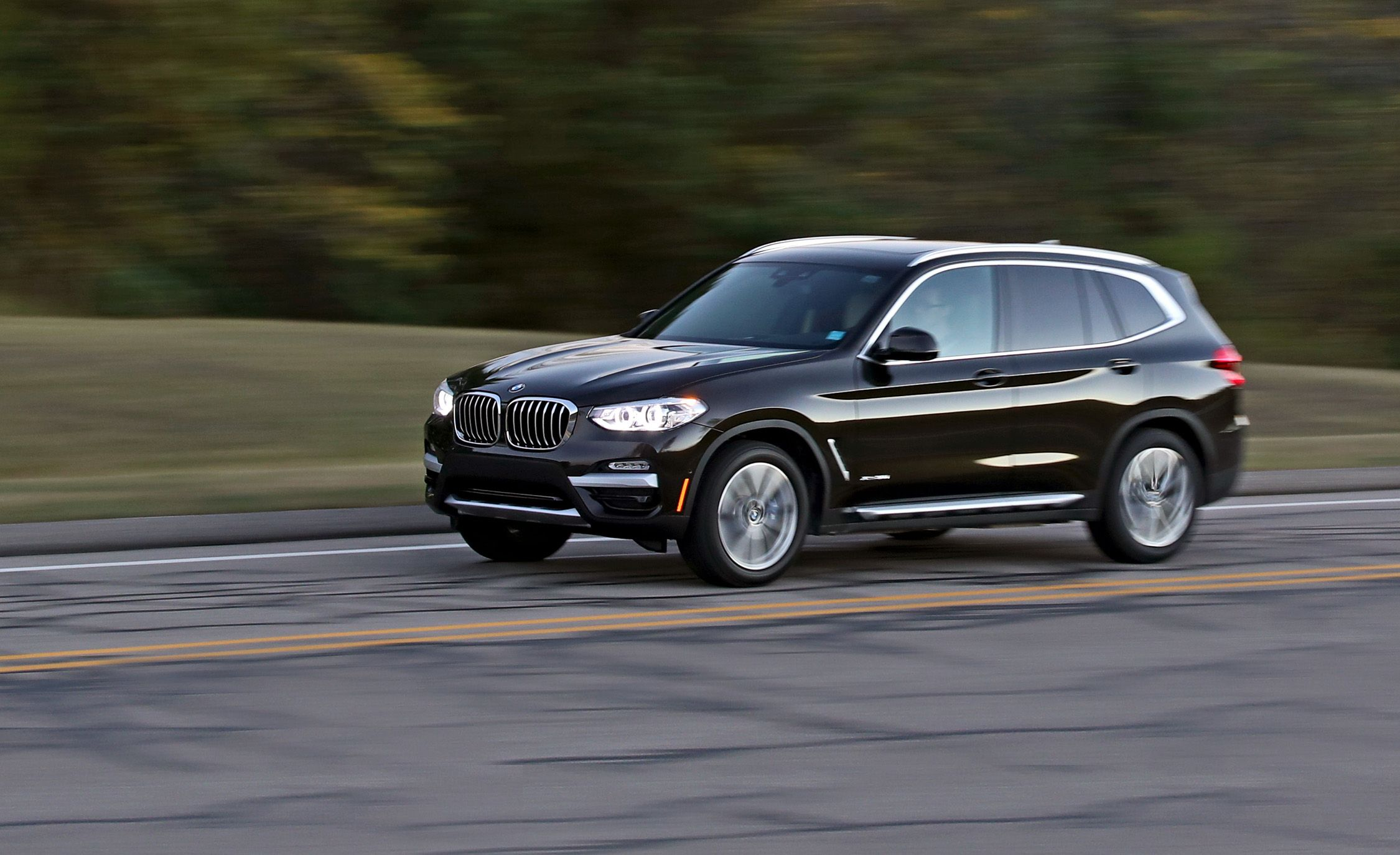 2019 bmw x3 reviews bmw x3 price photos and specs car and driver. Black Bedroom Furniture Sets. Home Design Ideas
