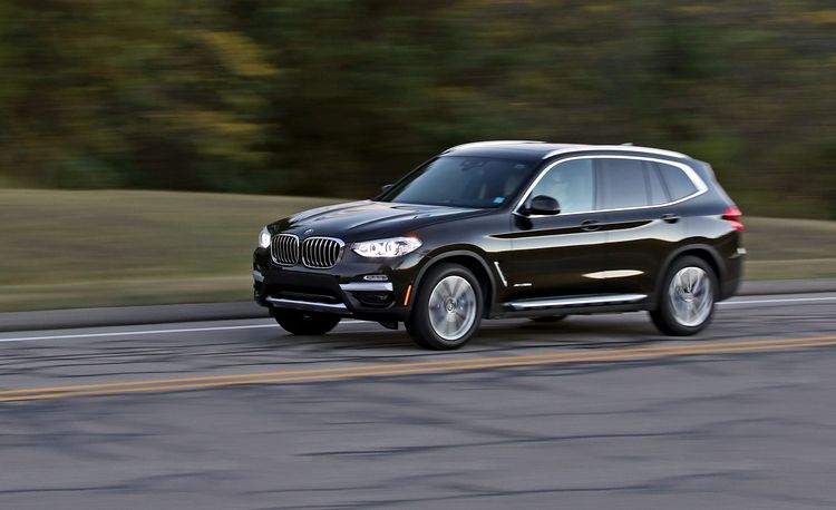2018 bmw x3 official photos and info news car and driver. Black Bedroom Furniture Sets. Home Design Ideas