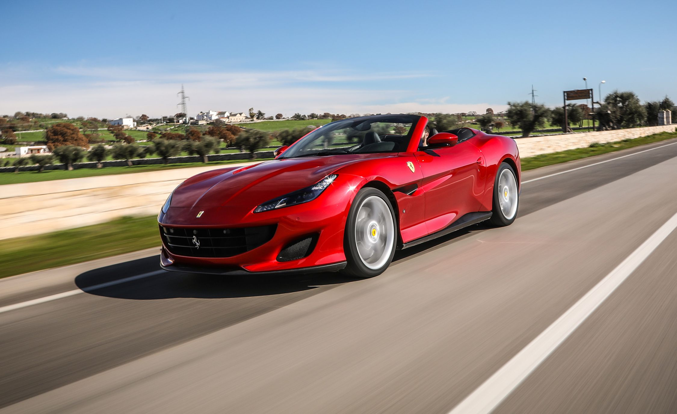 2018 Ferrari Portofino First Drive Review Car And Driver