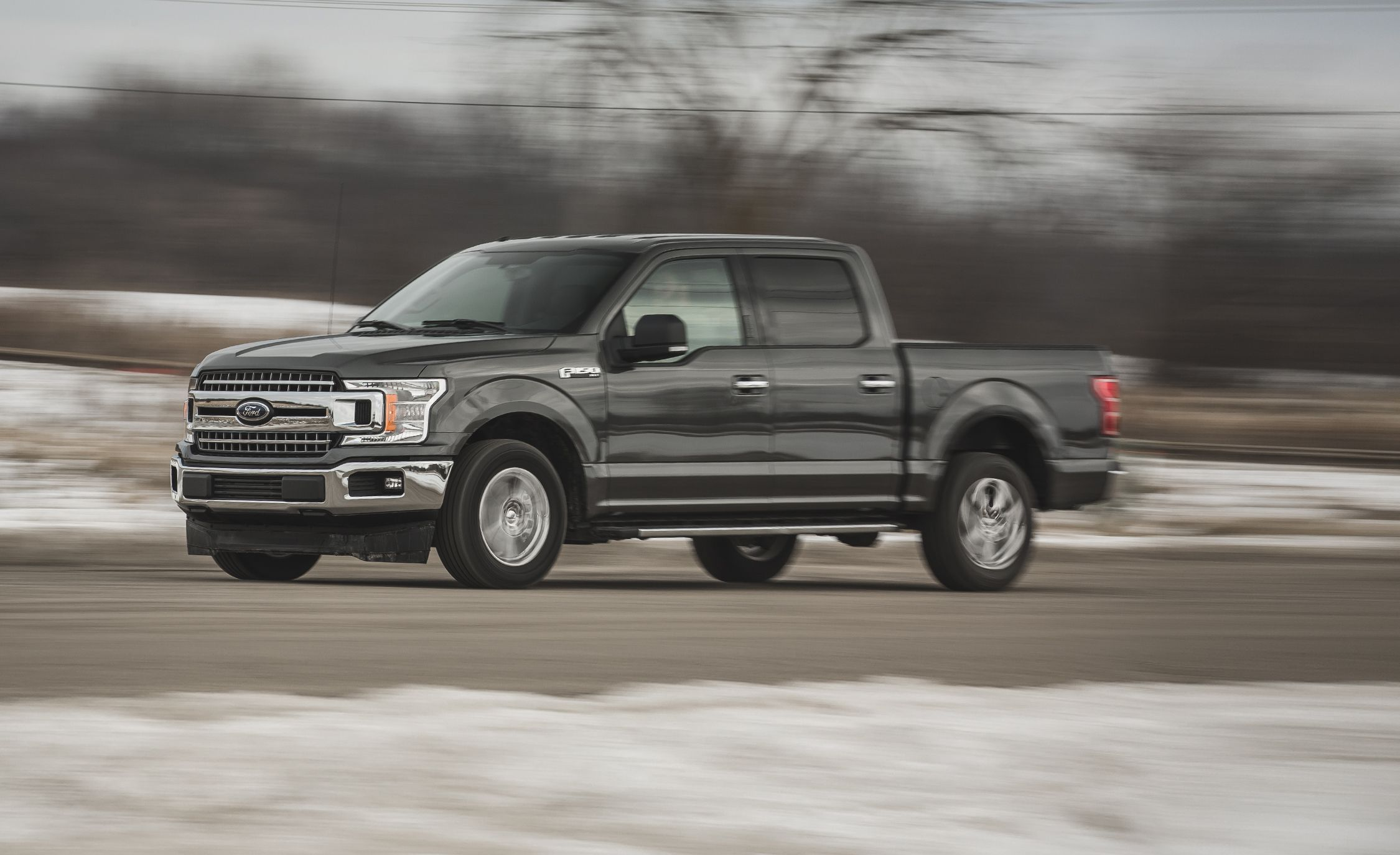 2018 Ford F-150 5.0L V-8 4x2 SuperCrew