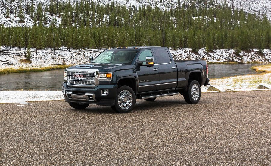 2018 gmc sierra 2500hd review car and driver. Black Bedroom Furniture Sets. Home Design Ideas