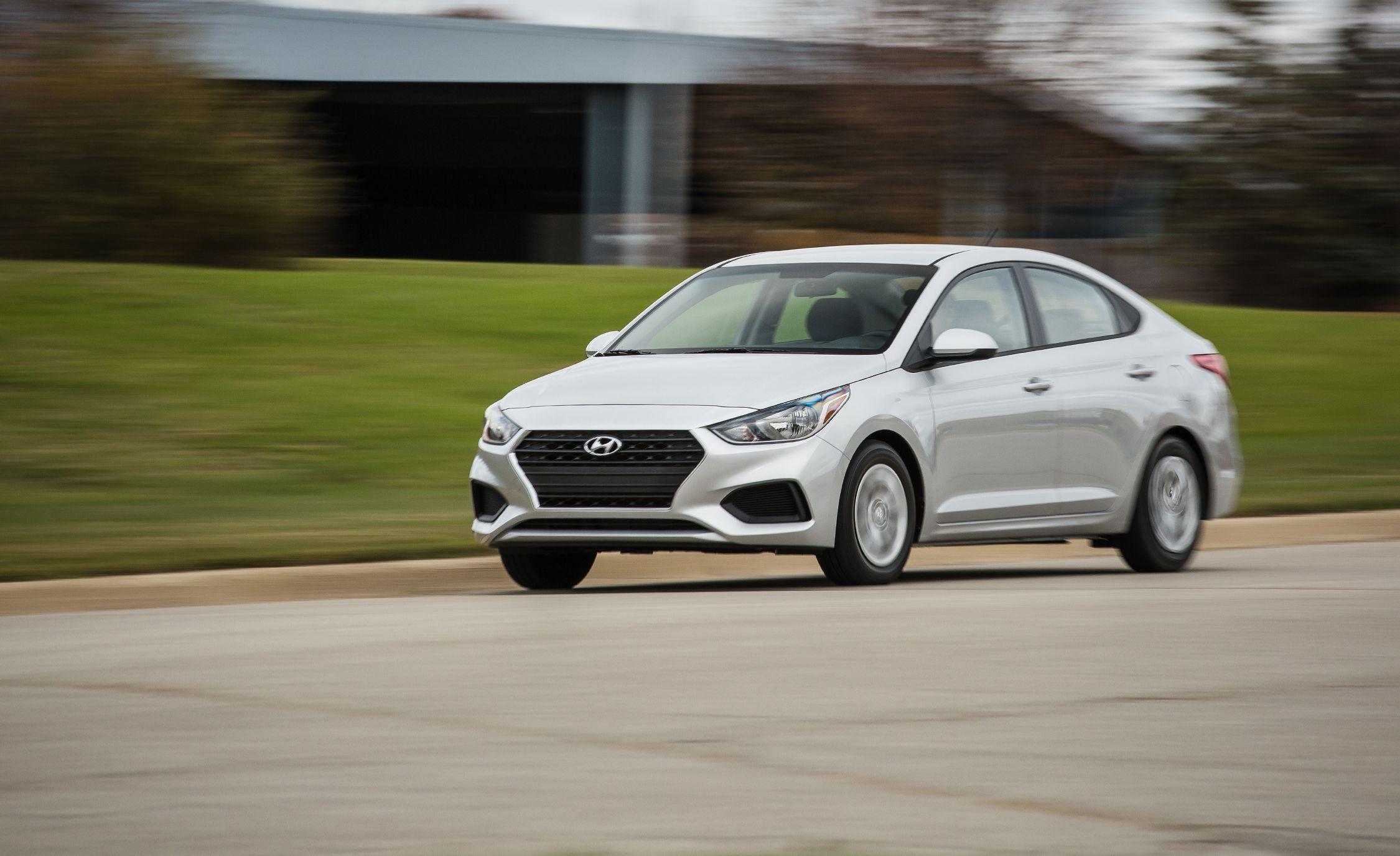2018 Hyundai Accent Manual