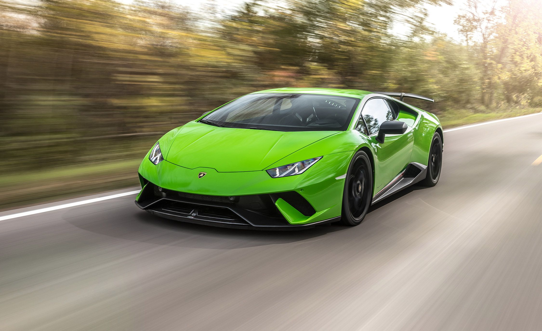 2018 Lamborghini Huracan Performante Test Review Car