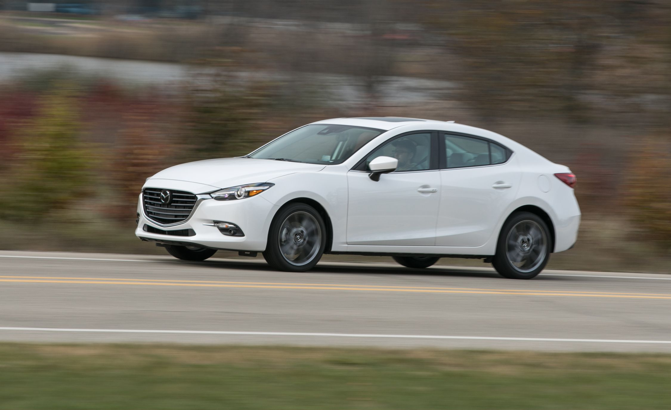 2017 Mazda 3 2 5l Automatic Sedan Tested Review Car And Driver