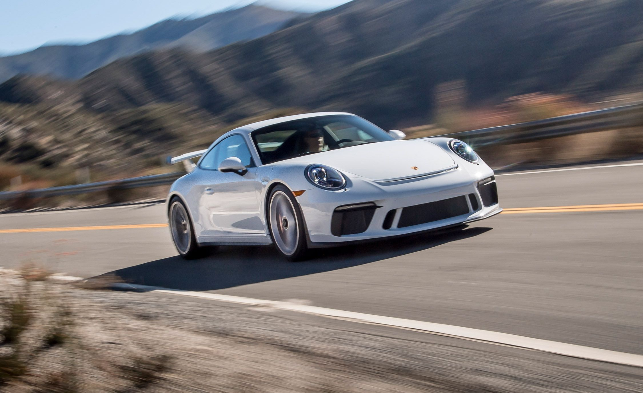 2018 Porsche 911 Gt3 >> 2018 Porsche 911 Gt3 Pdk Automatic Test Review Car And Driver
