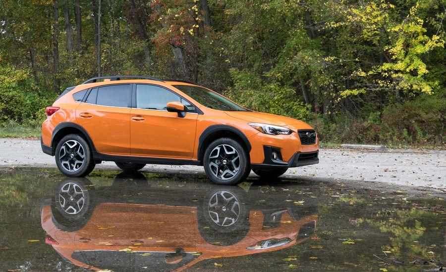 2018 subaru crosstrek automatic test review car and driver. Black Bedroom Furniture Sets. Home Design Ideas