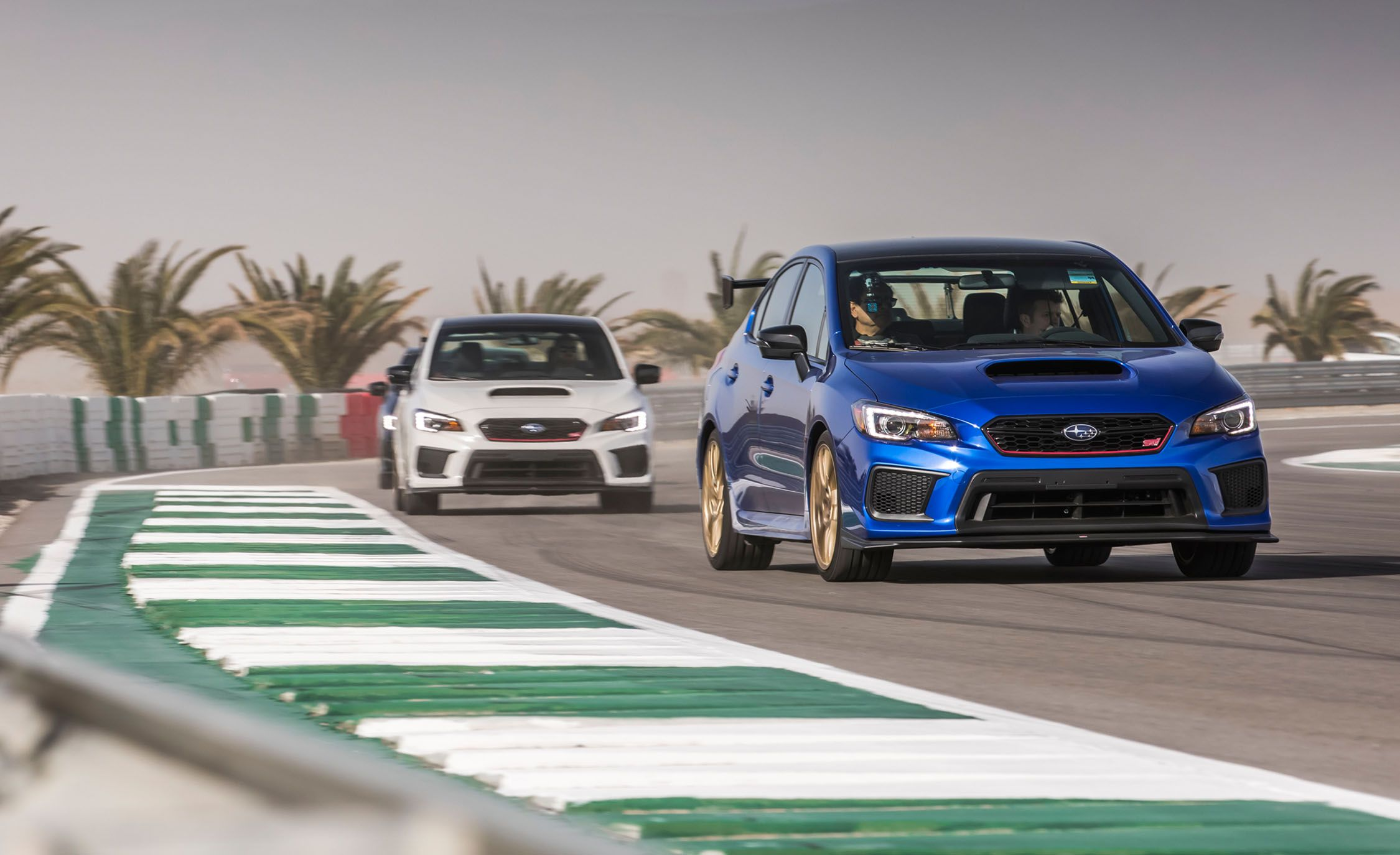 2018 Subaru Wrx Sti Type Ra First Drive Review Car And Driver