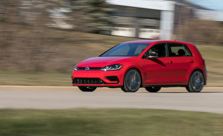 2018 Volkswagen Golf R Manual