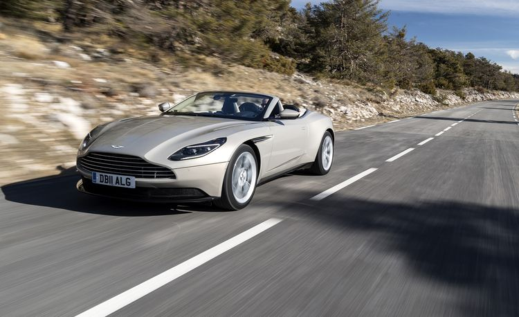 Aston Martin DB Volante Photos And Info News Car And Driver - Aston martin price list