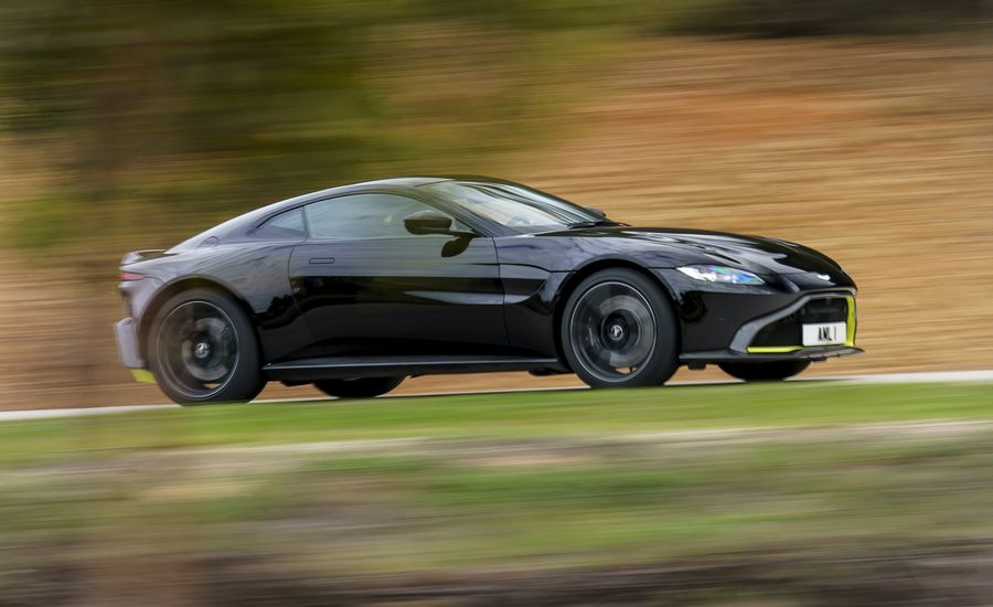 Aston Martin Vantage First Drive Like A Movie Prop Only - Build your own aston martin