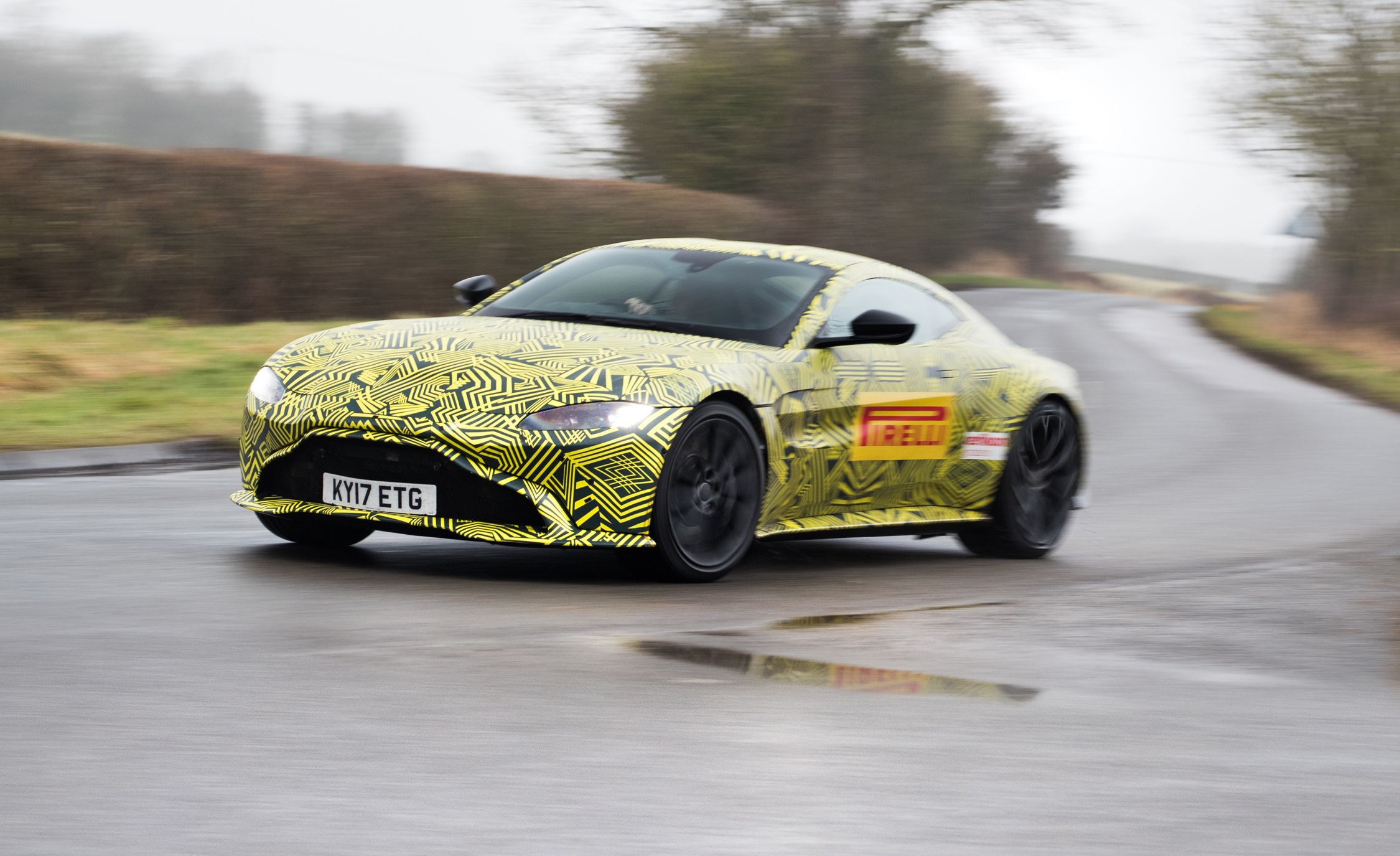 2019 Aston Martin Vantage Prototype Drive Review Car And Driver