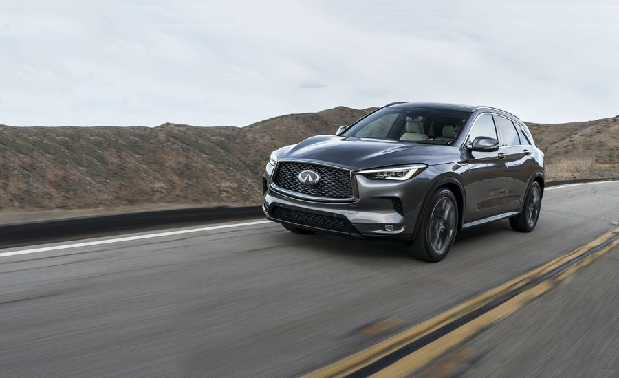 2019 Infiniti Qx50 First Drive Review Car And Driver