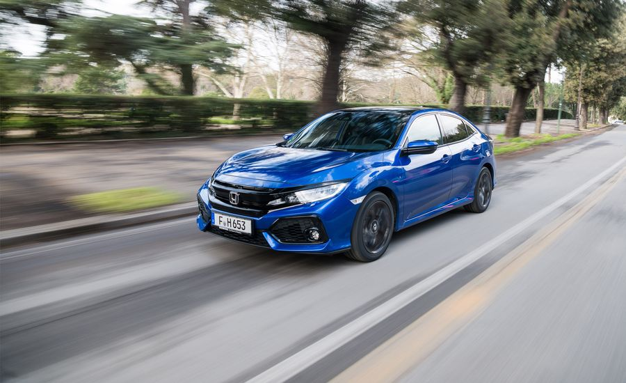 Honda Civic I Dtec Diesel First Drive Review Car And Driver