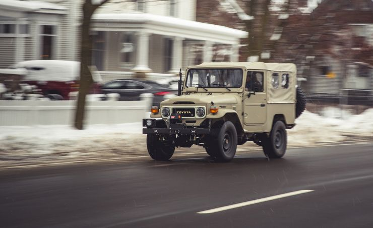 Time Is Money: We Test a $200K 1981 Toyota Land Cruiser
