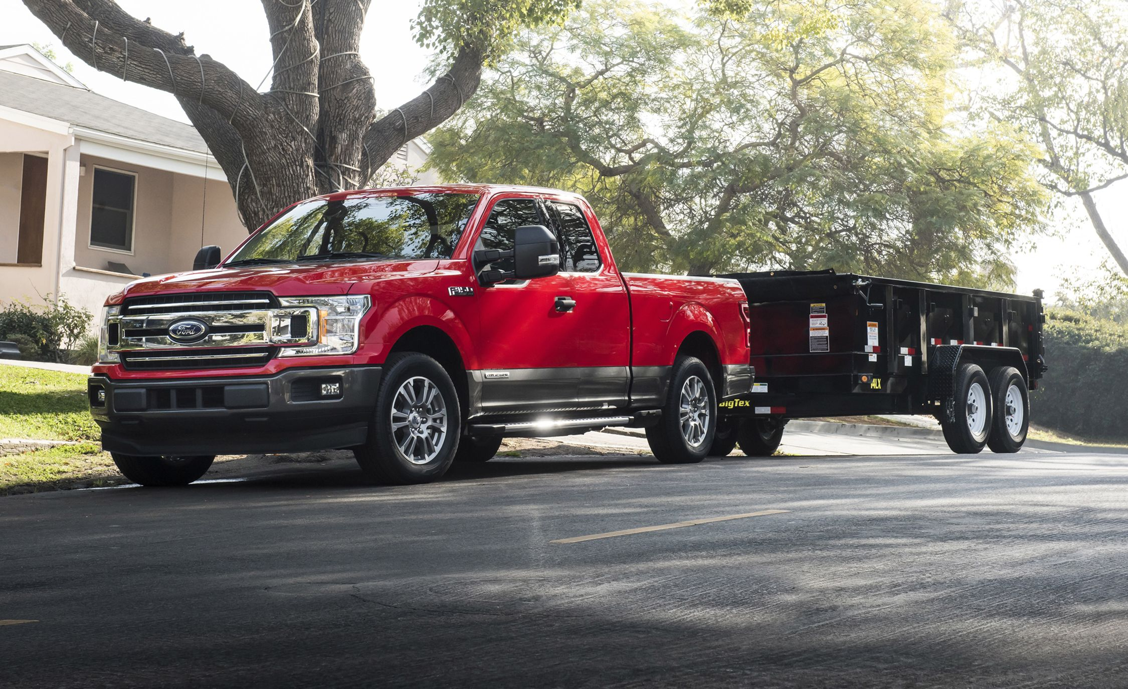 2018 ford f 150 diesel full details news car and driver rh caranddriver com Ford 150 to Silverado 2017 Ford Bronco