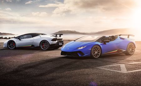 Lamborghini Huracan Performante Spyder: The Category-5 Huracan, Now in Roadster Form