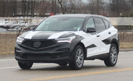 2019 Acura RDX Spied Out and About in Skimpy Camo