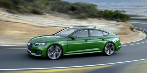 2019 Audi Rs5 Sportback Official Photos And Information News Car