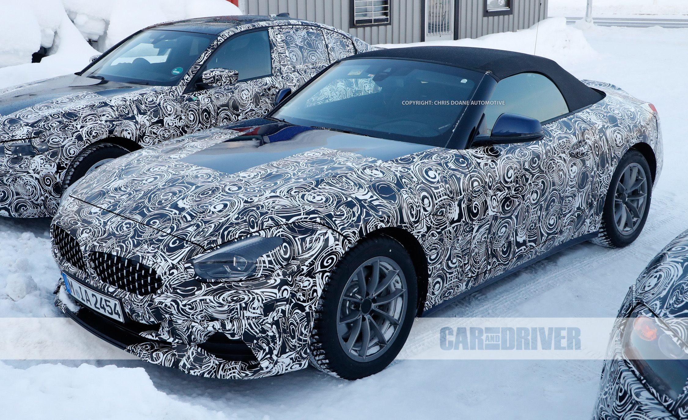 2019 Bmw Z4 Spied During Winter Testing News Car And