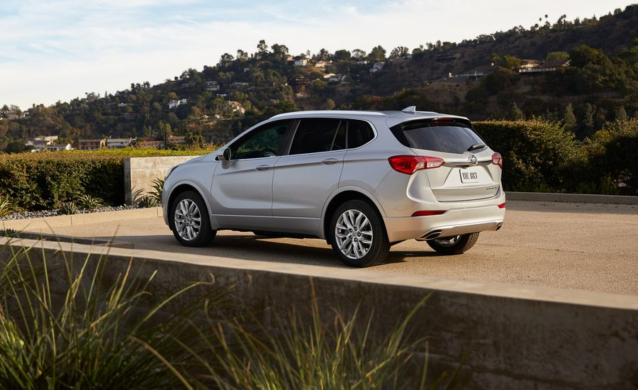 Buick Envision Compact Crossover Gets Refreshed for 2019