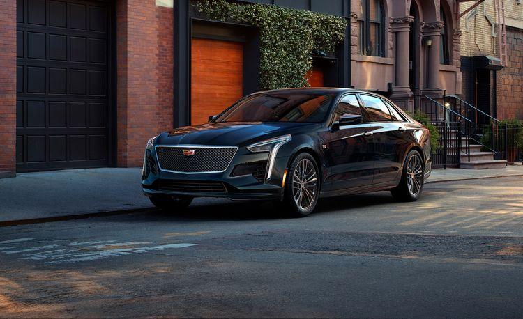 2019 Cadillac CT6-V Puts a 550-HP V-8 under the Hood
