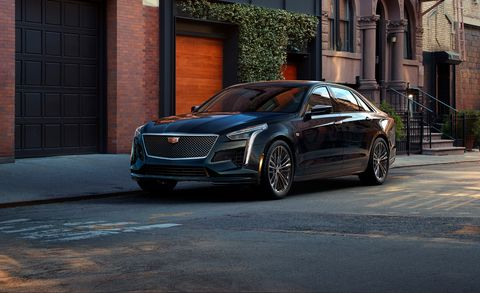 2019 Cadillac Ct6 V Announced New High Performance Luxury Sedan
