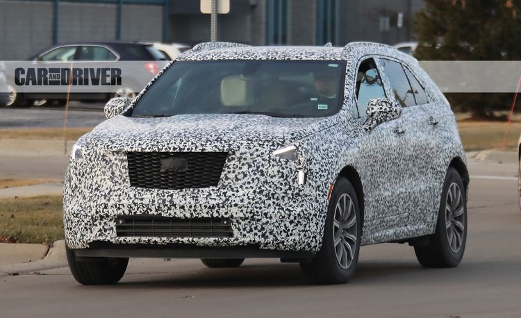 2019 Cadillac XT4 Spied: The Smaller Caddy CUV