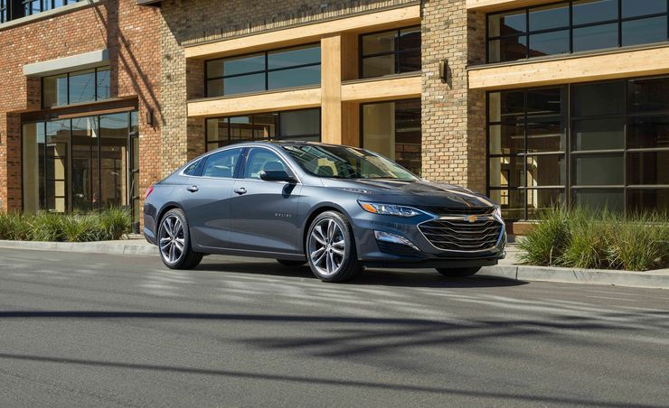 2019 Chevrolet Malibu Adds RS Model, Gets New CVT