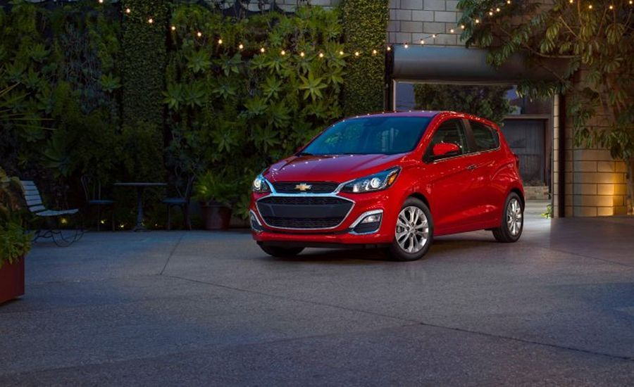 2019 Chevrolet Spark Puts On Dressier Clothes, Remains a Tiny Subcompact