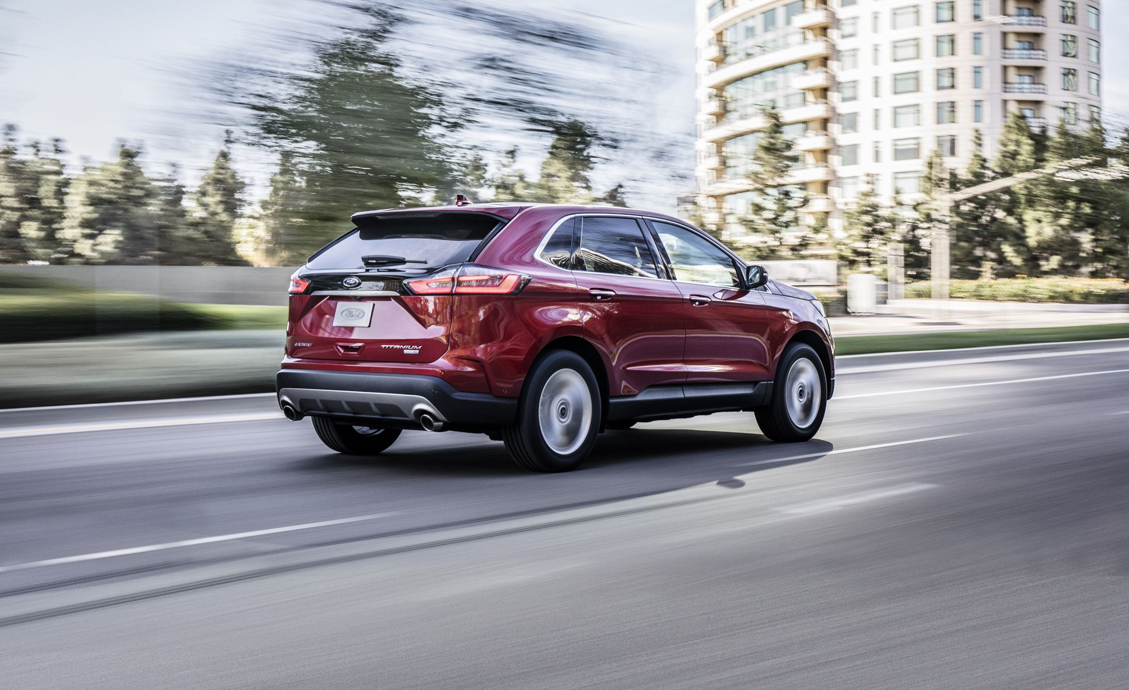 2019 Ford Edge Four Cylinder Only More Standard Safety Tech