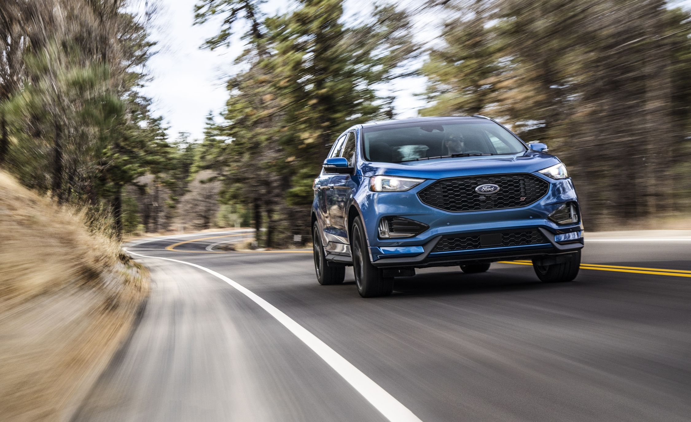 2019 ford edge st photos and full info | news | car and driver