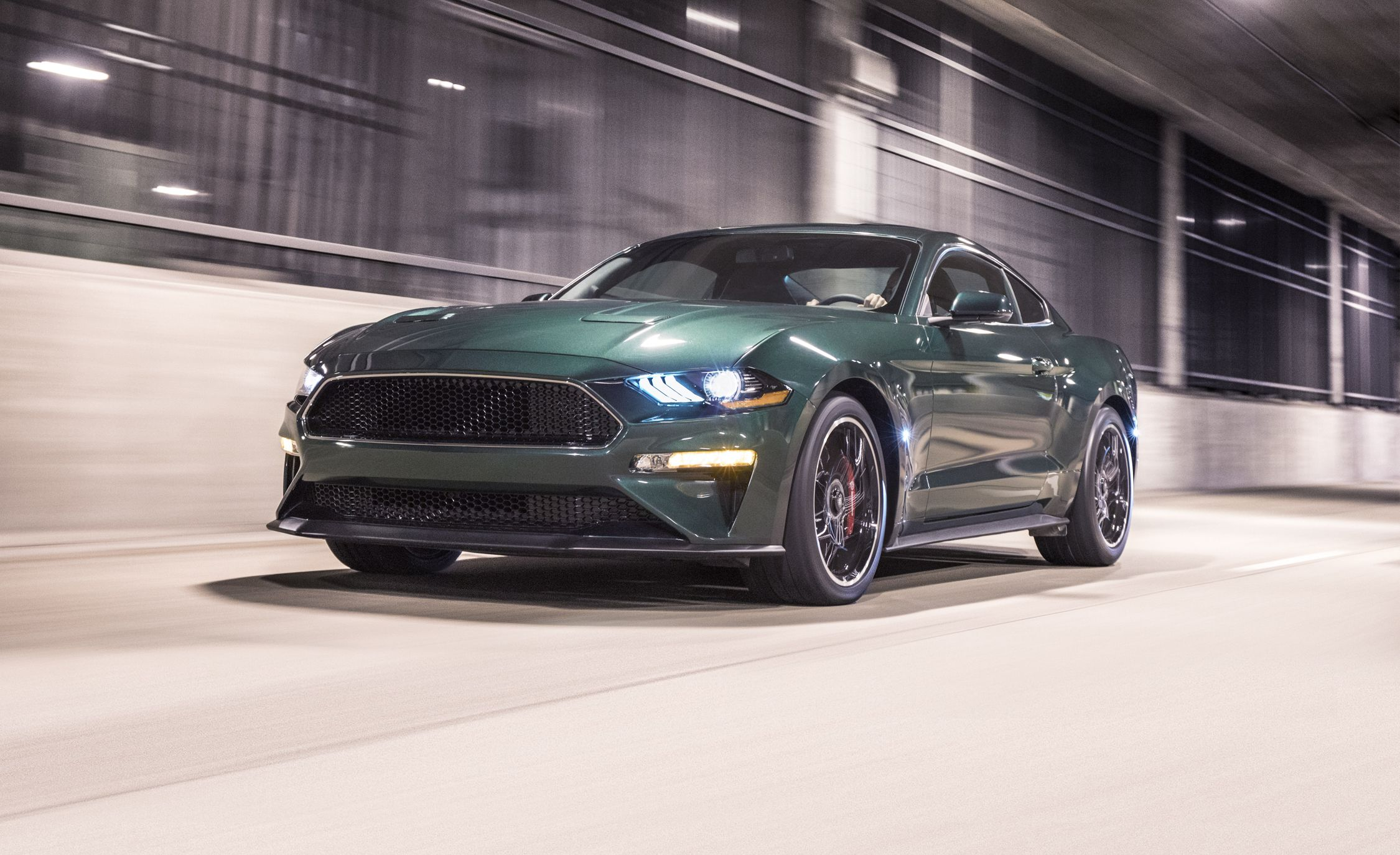 2019 ford mustang bullitt photos and info news car and. Black Bedroom Furniture Sets. Home Design Ideas