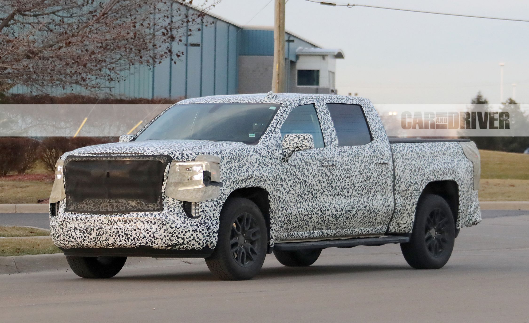 2019 GMC Sierra 1500 Spied: Making the Grade