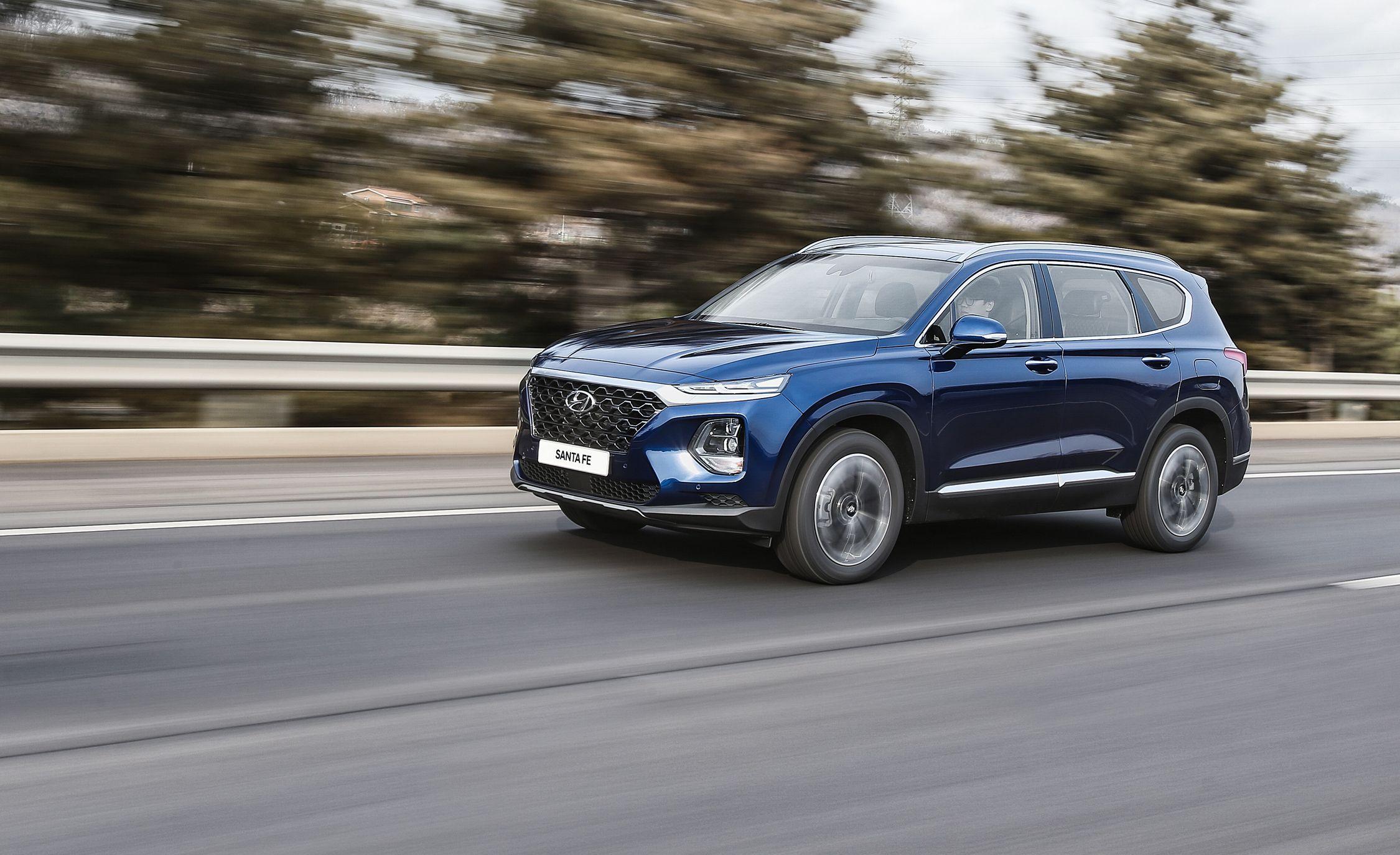 2019 Hyundai Santa Fe Has Bolder Looks Optional Diesel