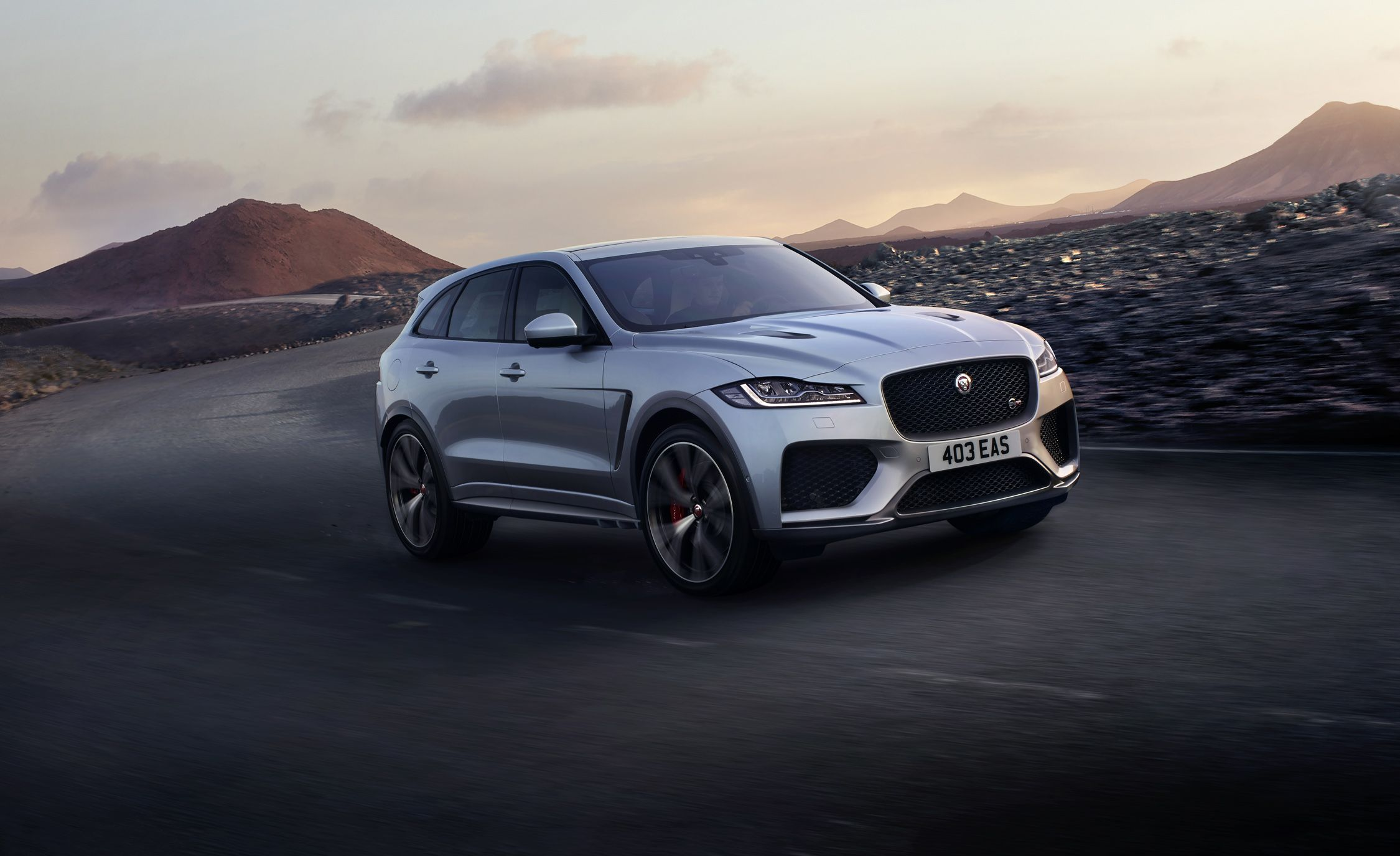 2019 Jaguar F Pace Svr Packs 550 Hp News Car And Driver