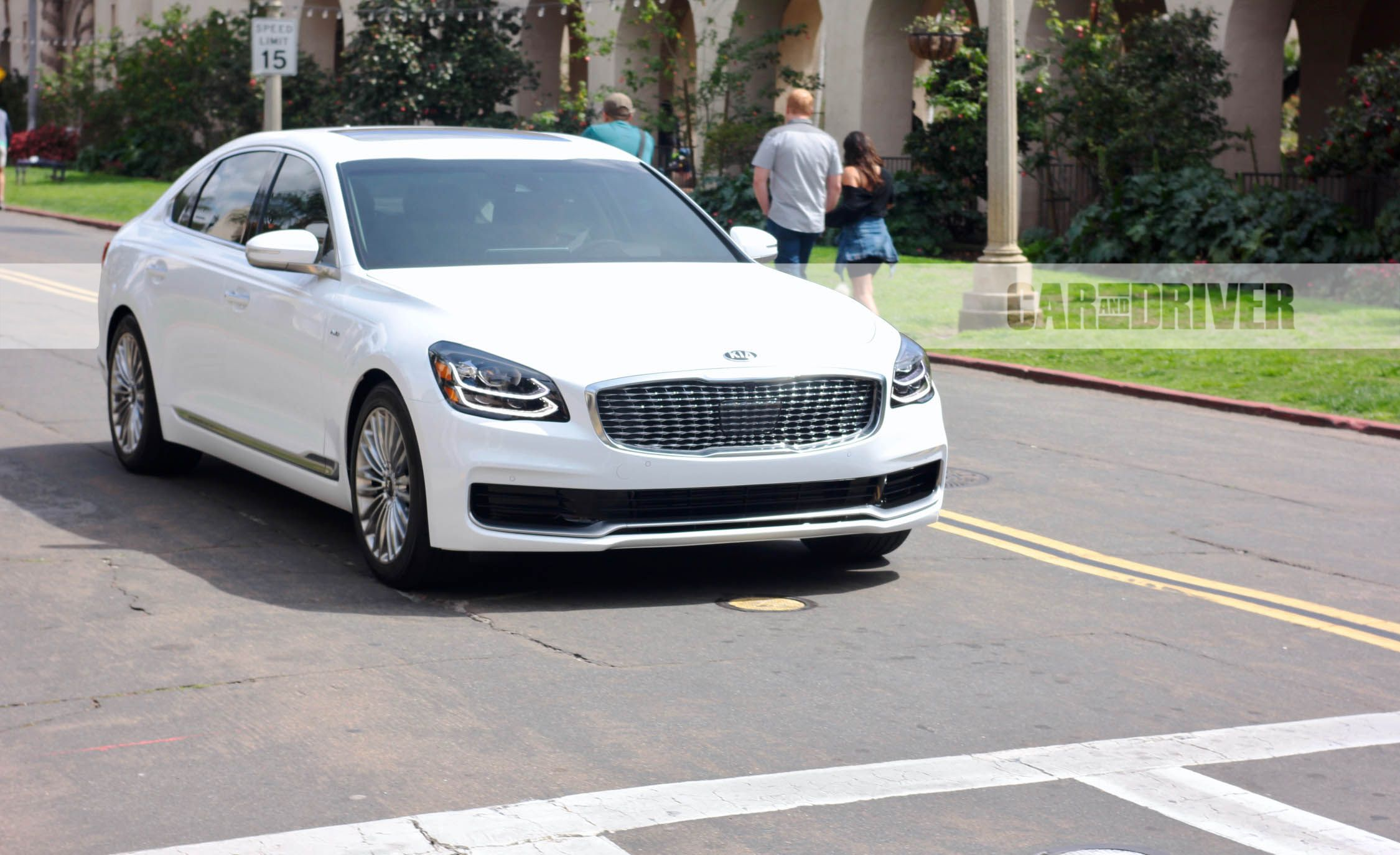 Kia K9 Price >> 2019 Kia K900 First Pictures: It's Back and Better-Looking | News | Car and Driver