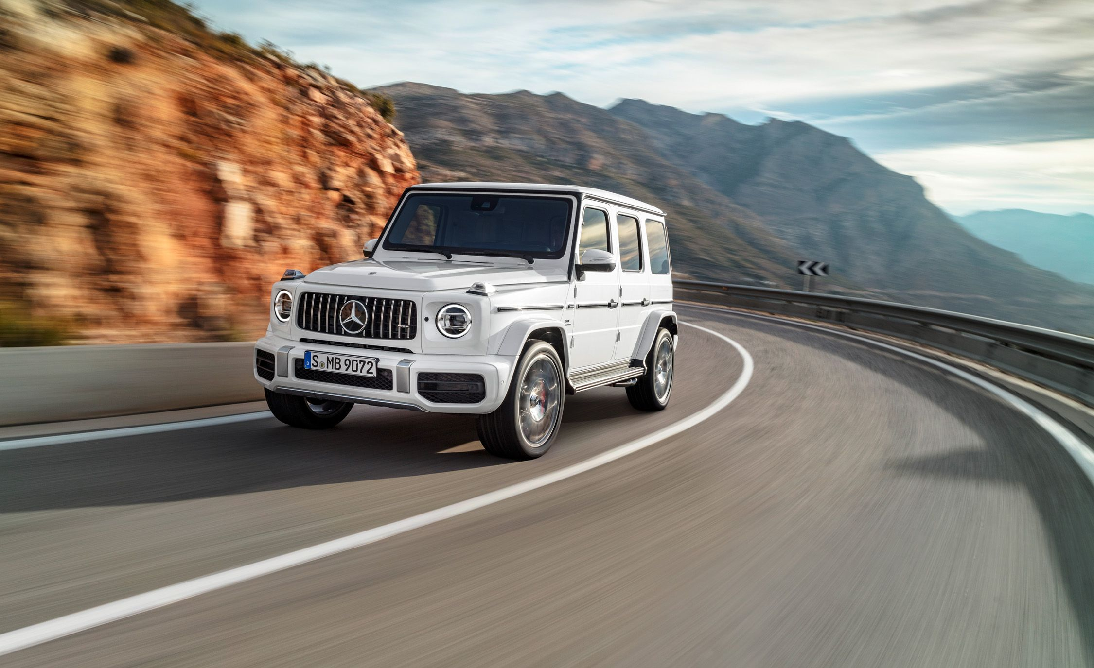 Mercedes Benz Rims >> 2019 Mercedes-AMG G63 Official Photos and Info | News | Car and Driver
