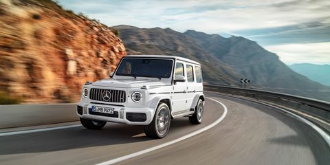 2019 Mercedes Amg G63 Official Photos And Info News Car And Driver