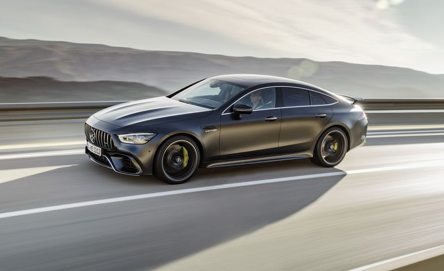 2019 mercedes amg gt 4 door coupe officially unveiled packs up to