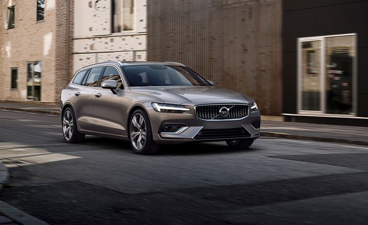2019 Volvo V60: The Mid-Size V Gets Redone