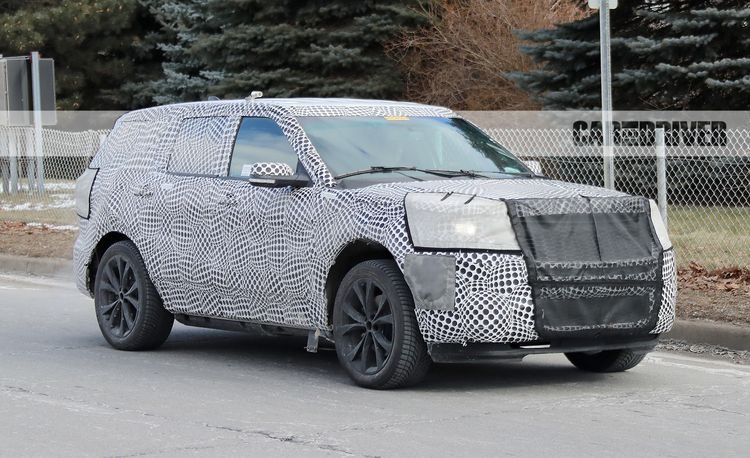 2020 Ford Explorer ST: A Sporty Explorer, Likely with Rear-Wheel Drive
