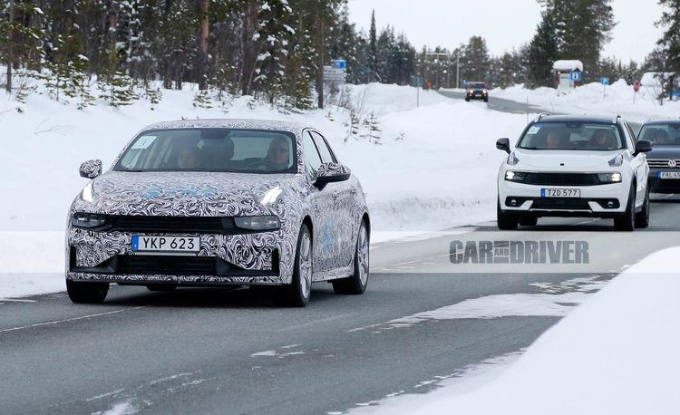 2020 Lynk & Co 03: Sino-Swedish Sedan Spied