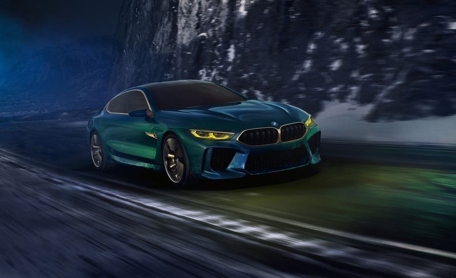 BMW Concept M8 Gran Coupe: M Is for More