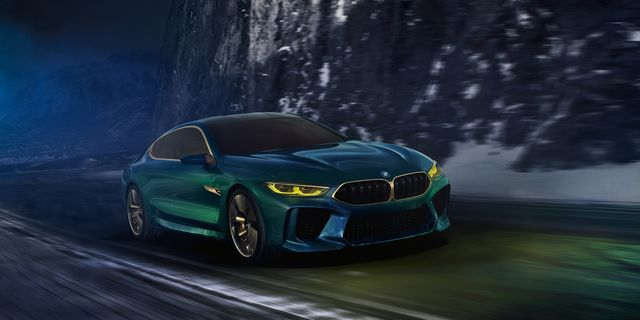 Bmw M8 Gran Coupe Concept Revealed News Car And Driver