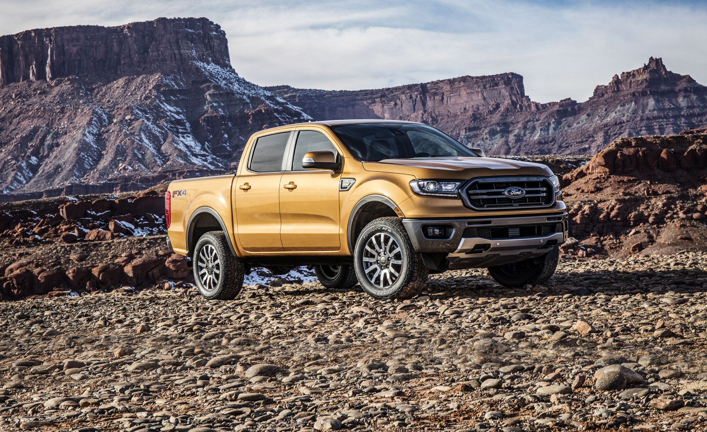 2019 Ford Ranger Mid-Size Pickup Horsepower, Torque, and Towing Revealed