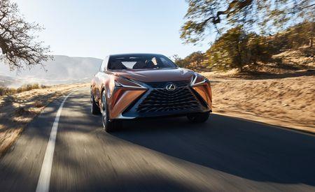 Lexus LF-1 Limitless Concept: Maximum Lexus