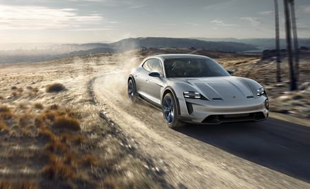 Porsche Mission E Cross Turismo Concept: It's an Electric Porsche Wagon