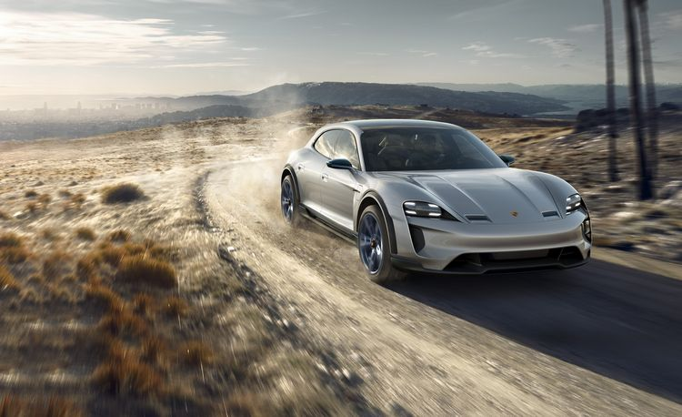 Porsche Mission E Cross Turismo Concept: It's an Electric Porsche Wagon