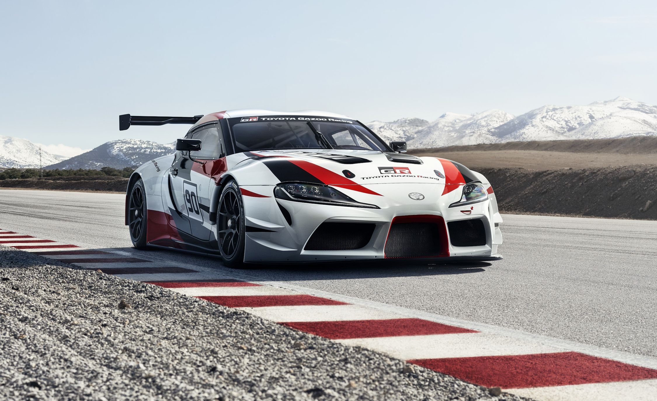 Toyota Gr Supra Racing Concept The Supra Is Officially