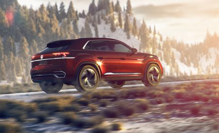 Volkswagen Atlas Cross Sport Concept: Five for Fighting